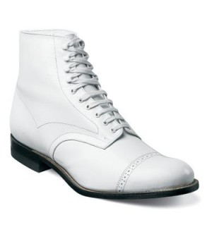 White Madison Boot