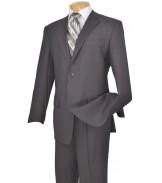 2 Button Grey Suit
