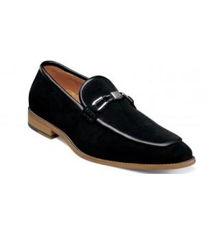 Black Suede Slip-on
