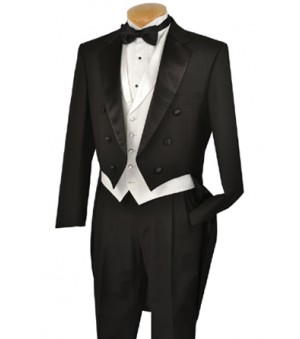 Black Tuxedo with Tails