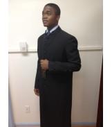 Robe Black with Black Trim