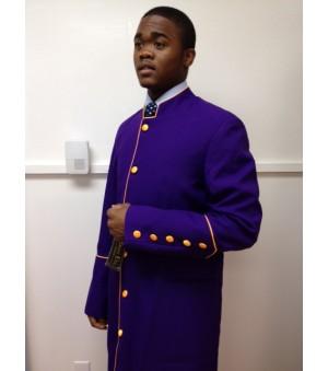 Robe Purple with Gold Trim