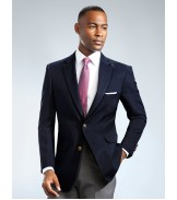 Navy 2- Button Blazer