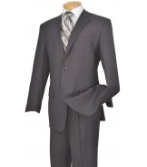 2 Button Grey Suit