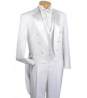 White Tuxedo with Tails